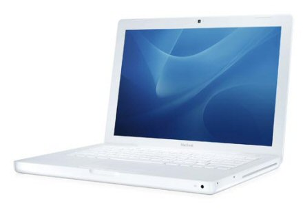 White apple laptops